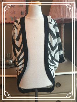Vestje met zebra design van Retour - maat 146-152