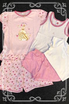 5-delige pyjama set roze maat 134/140