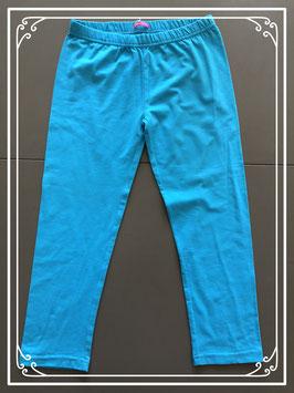 Nieuwe turquoise driekwart legging Hema-maat 158-164