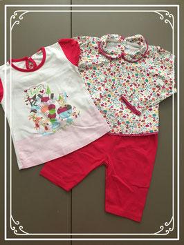 Kleurrijk kleding setje - Maat 86-92