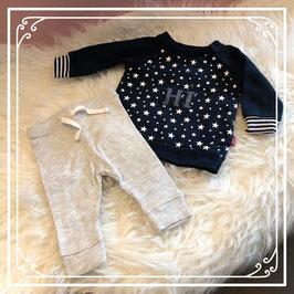 FEETJE sterren trui met HEMA broekje - Maat 56