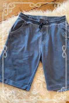 Blauwe korte broek van de WE - maat 146-152