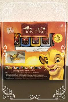 Raamdecoraties maken van The Lion King