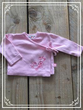 Roze t-shitje met lange mouwen van Prénetal - Maat 56