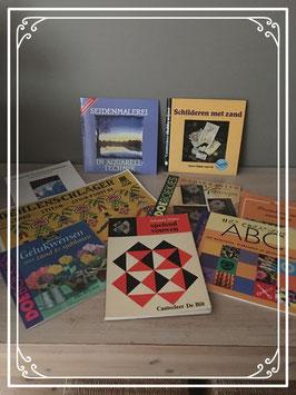 Set van handwerkboeken