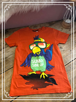 Oranje t-shirt van het merk Unlocked - maat 140-146