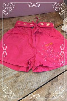 Roze korte broek van het merk Villa Happ - maat 92