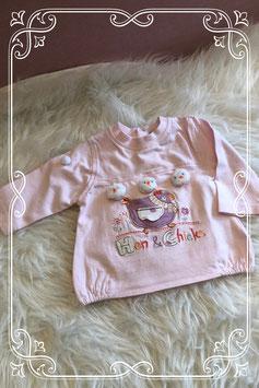 Lichtroze lange mouwen shirt van Prèmaman - Maat 56