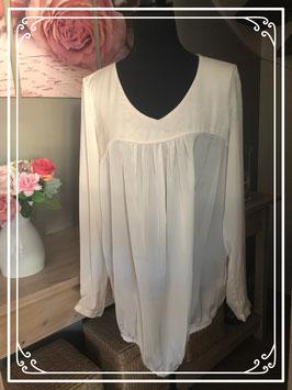 Crèmekleurige blouse van Mama Licious - Maat L