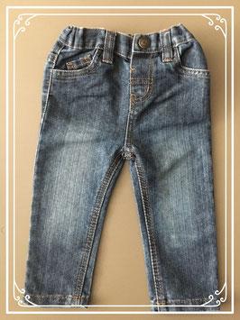 Stoer spijkerbroekje met stiksel - maat 68