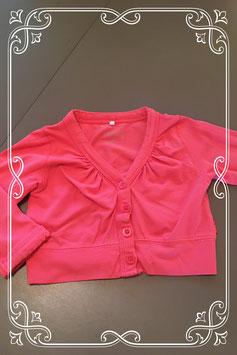 roze vestje van name it - maat 104