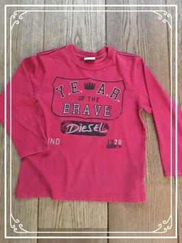 Bordeaux jongenssweater van Diesel - maat 110