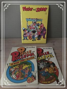 Set boeken van Pelle en Pollepel en plezier met sjors