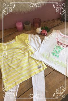3 delige zomerse kledingset - Maat 122/128