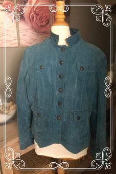 Blauw jasje van Troblos - Maat 56