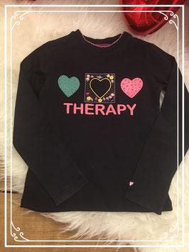 Zwart opvallend shirt van Love Therapy - Maat 98