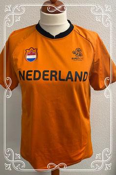 Oranje voetbal shirt in maat L