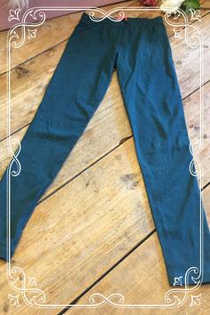 Donkergroene legging van HEMA - Maat 134-140