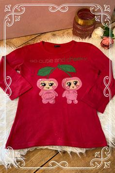 Rood shirt van Madonna - Maat 158