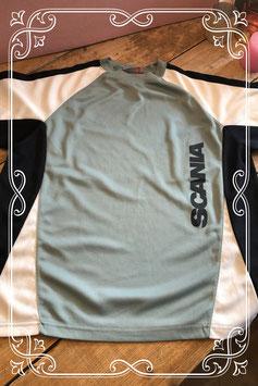 Mintgroen t-shirt van Scania - maat l