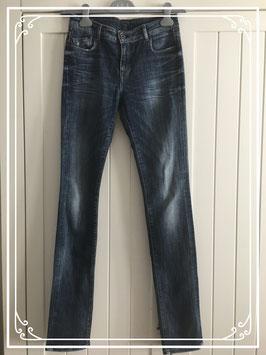 Donkerblauw spijkerbroek van Kiliwatch - Jeans maat 27 (XS)