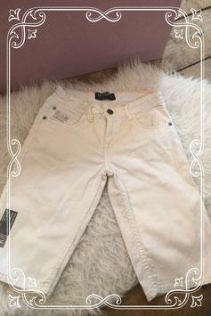 Stoere witte moderne broek van Mitch - Maat 146-152