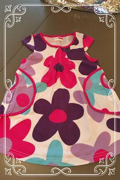 jurkje met bloemen print van name it - maat 80