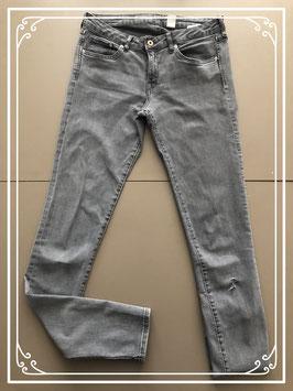 Grijze spijkerbroek van H&M – Maat W29-L34