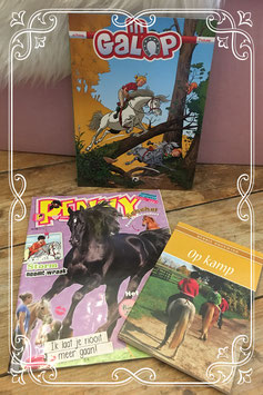 Set van 3 leuke paardenboekjes