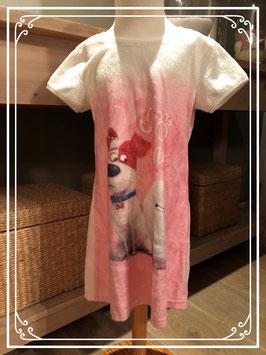 Fluffy jurkje van huisdiergeheimen-maat 122-128