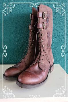 Nieuw! Hoge bruine laarzen van Tommy Hilfiger in maat 41