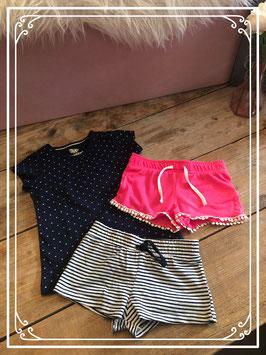 3 delige zomer kleding set van de HEMA en LUPILU - maat 86/92