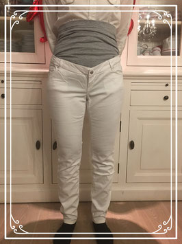 Witte zwangerschapsbroek van Miss Etam - Maat 40