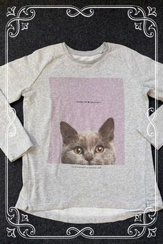 Stoere trui met kat erop van C&A maat 170/176