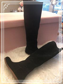 Zwarte SHABBIES hoge laarzen - Maat 40