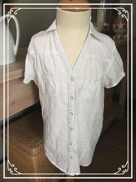 Witte blouse van H&M - Maat 152