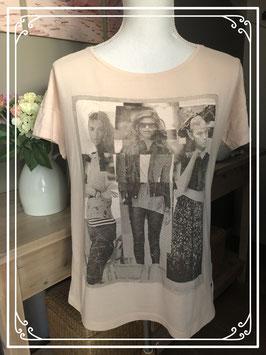 Trendy zalmkleurig shirt van EDC-maat M