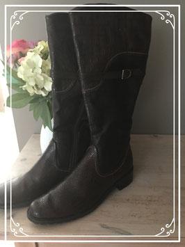Nieuw: donkerbruine laarzen van Canda - Maat 41