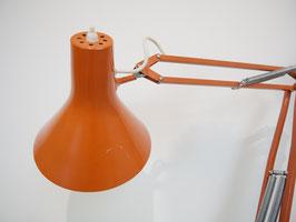 Gelenkarmleuchte Modell L4 in orange, Jac Jacobson für LUXO