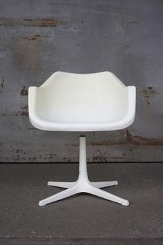 Polypropylen Armlehnstuhl auf drehbarem Sternenfuß von Robin Day für Hille