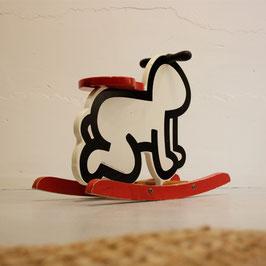 Keith Haring Schaukelpferd