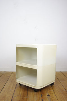 Anna Castelli Kartell italy 4970 weiß Componibili Rollcontainer quadratisch
