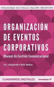 """Cuaderno """"Organización de Eventos Corporativos"""""""