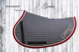 BIG STAR - Schabracke grau by twohearts®
