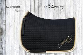 DONNERHALL - Premium Schabracke schwarz by twohearts®