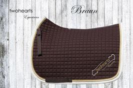 Rembrandt - Premium Schabracke braun by twohearts®