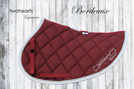 FÜRSTEN LOOK - Schabracke Bordeaux by twohearts®