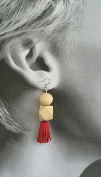 Boucles d'oreilles Chamois