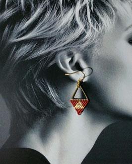 Boucle d'oreille Triangle