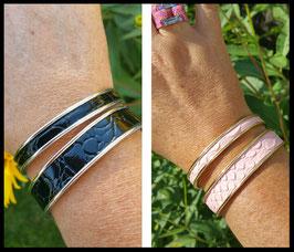 Bracelet Simili Cuir Effet Croco 4